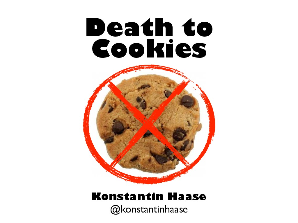 Distill: Death to Cookies