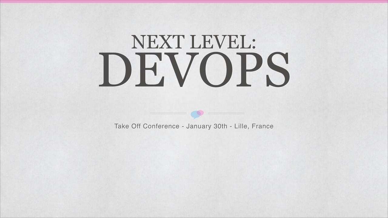 Next Level: DevOps