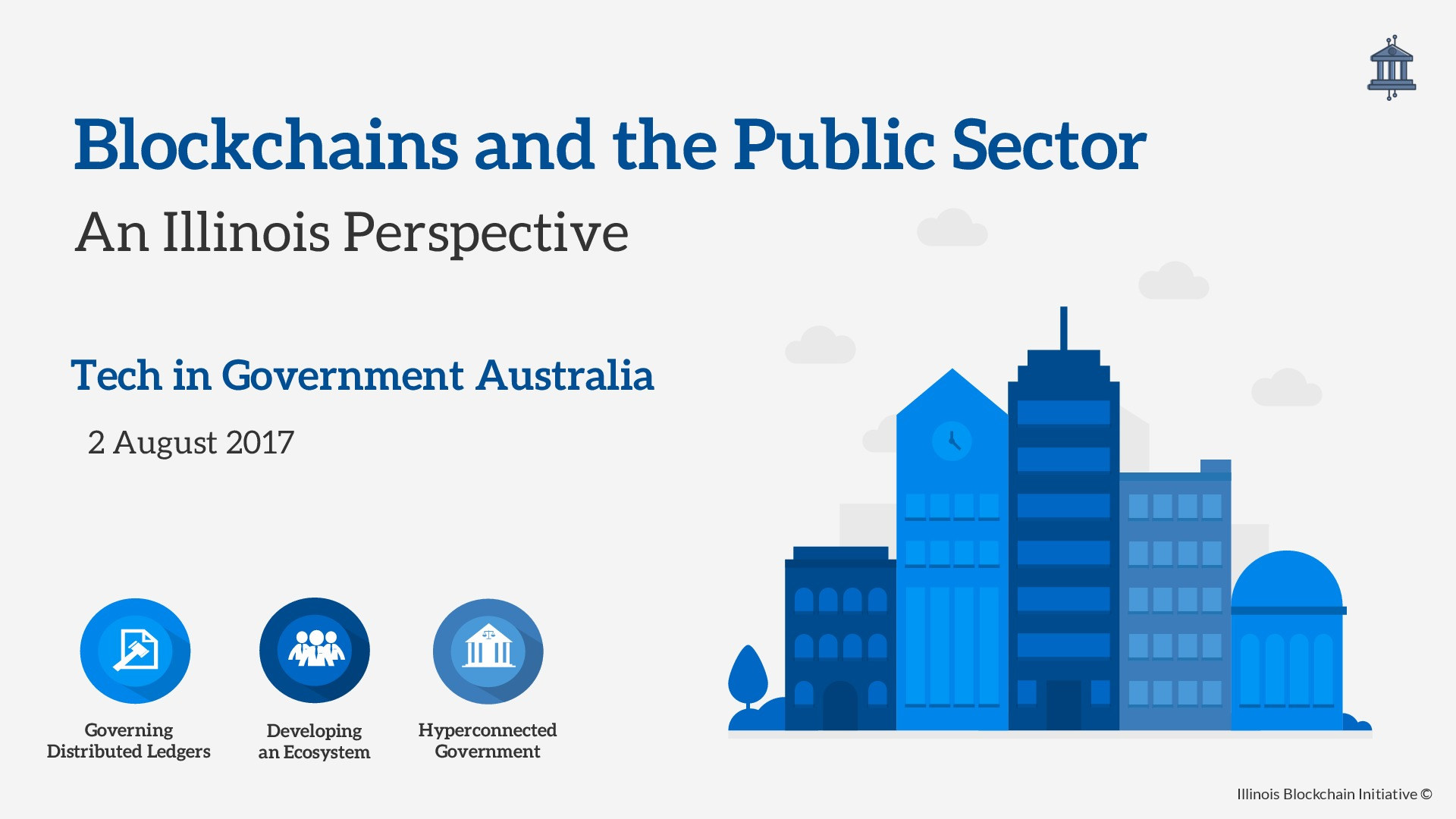 Blockchains & the Public Sector Australia