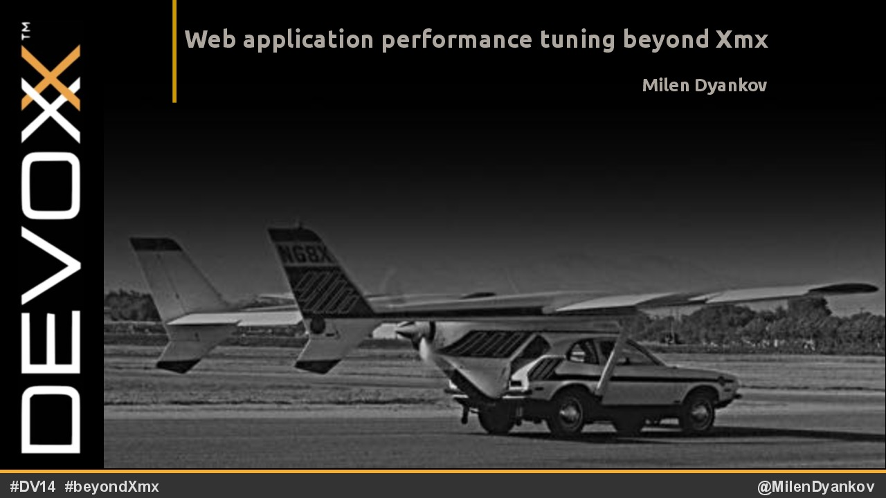 Web application performance tuning beyond Xmx
