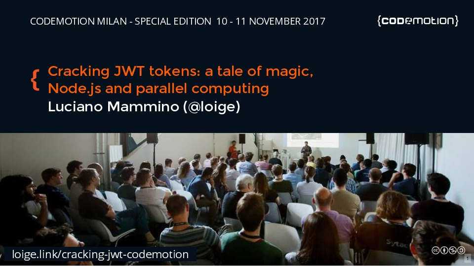 Cracking JWT tokens: a tale of magic, Node.JS and parallel computing