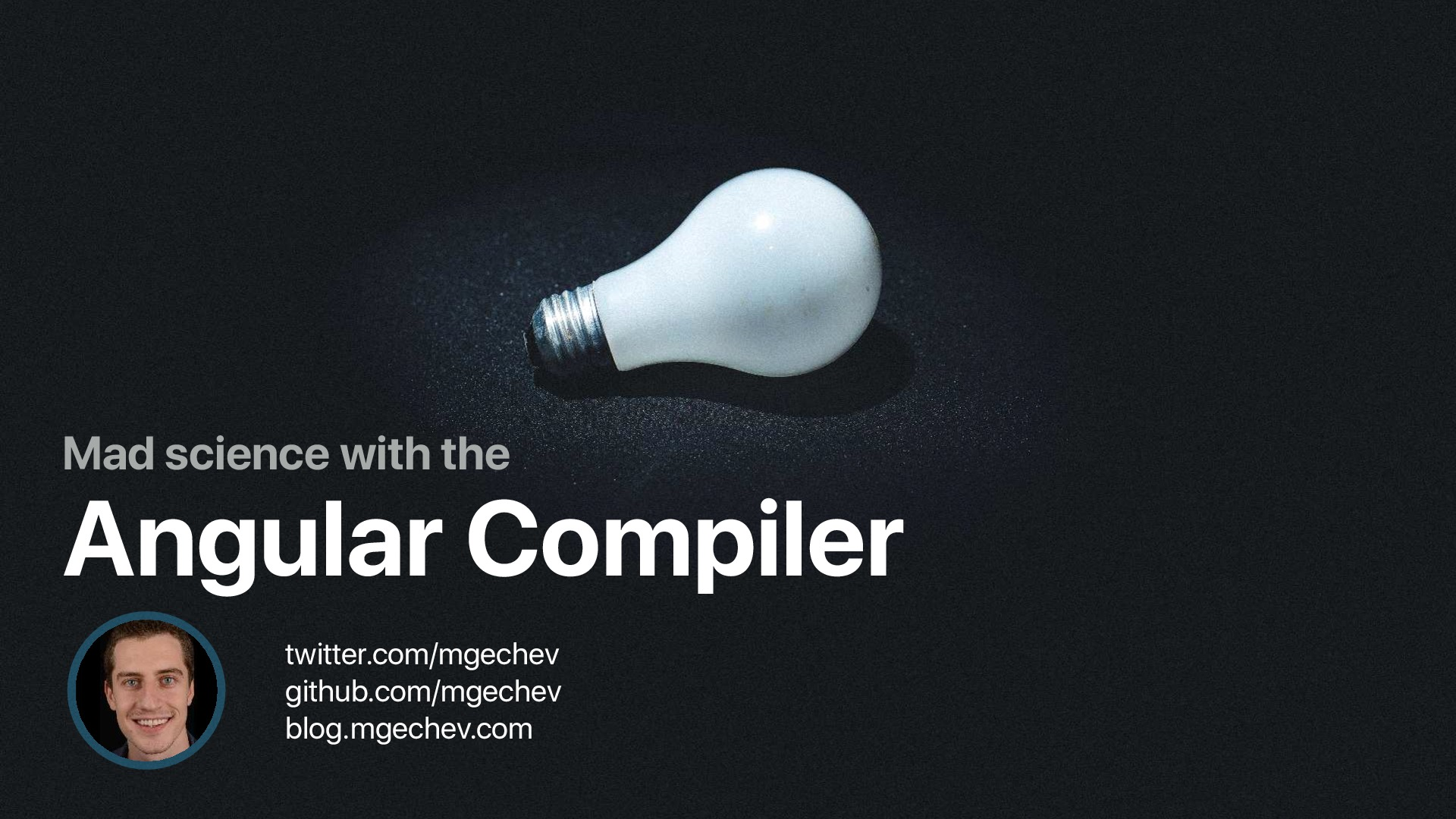 Mad Science with the Angular Compiler