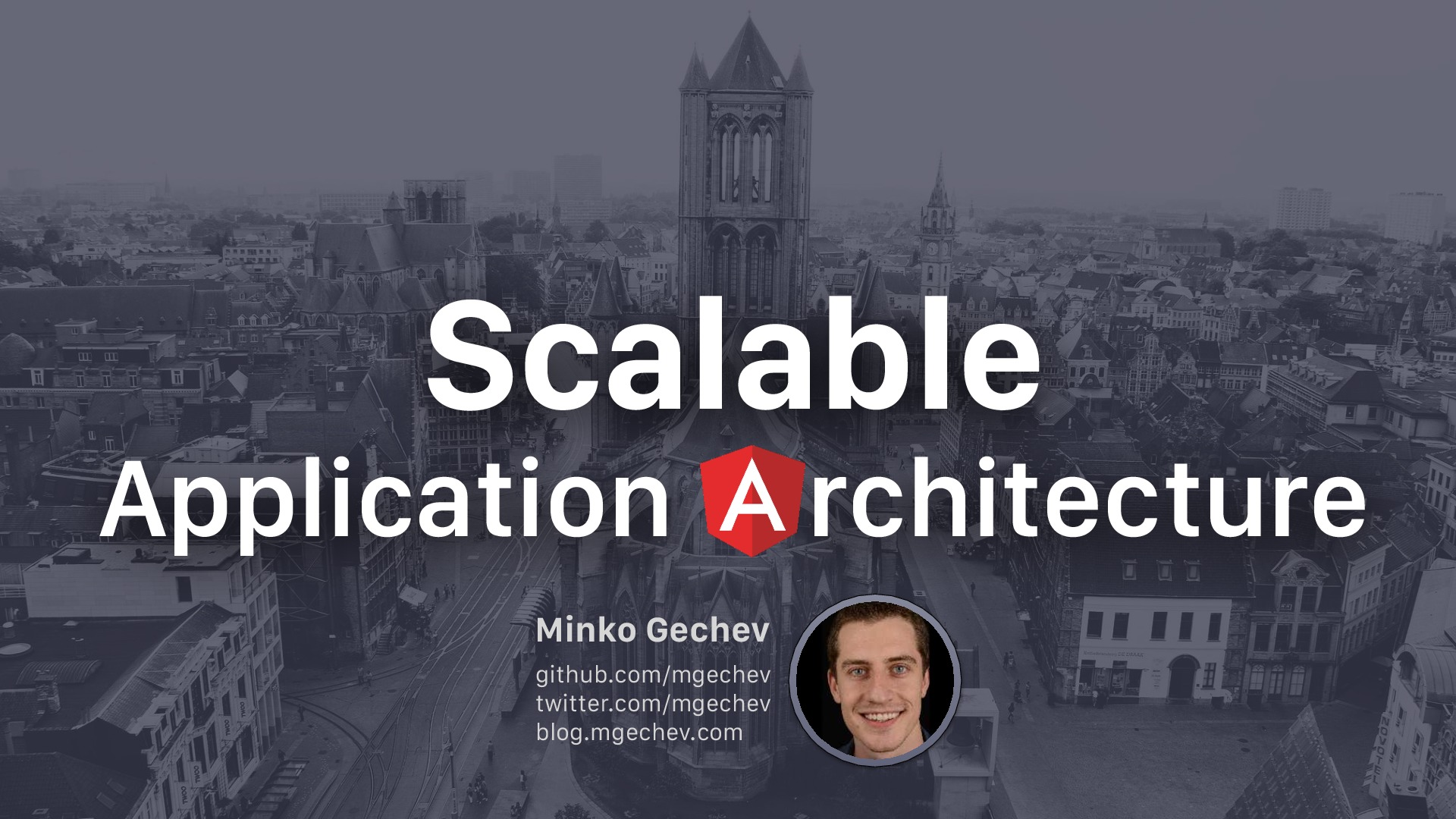 Scalable Application Architecture