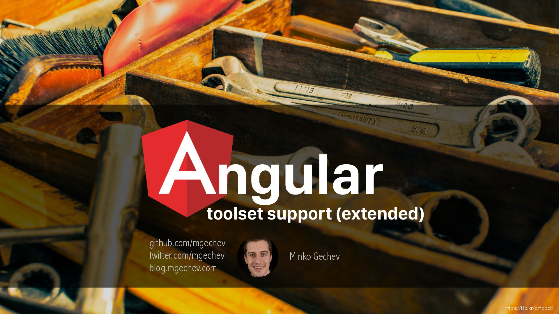 Angular Toolset Support