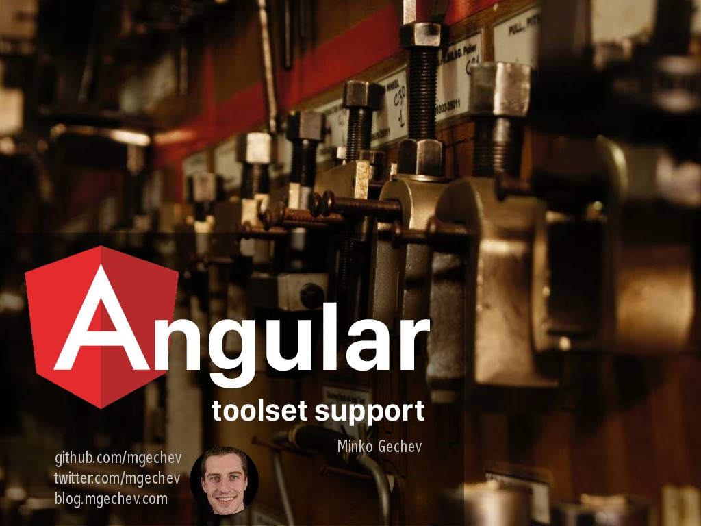 Angular 2 Toolset Support