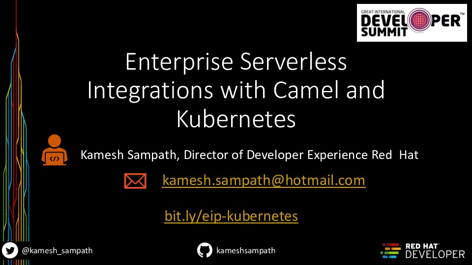 Enterprise Serverless Integrations with Camel and Kubernetes