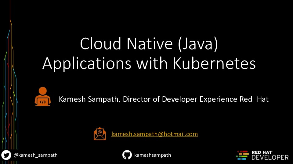 Cloud Native (Java) Applications with Kubernetes and Quarkus