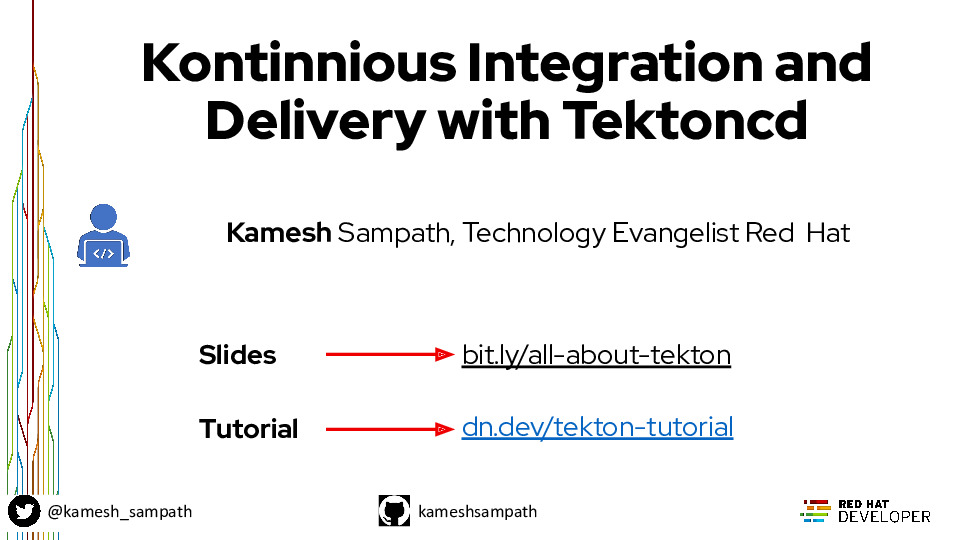 Plumbing Kubernetes builds | deploy with Tekton