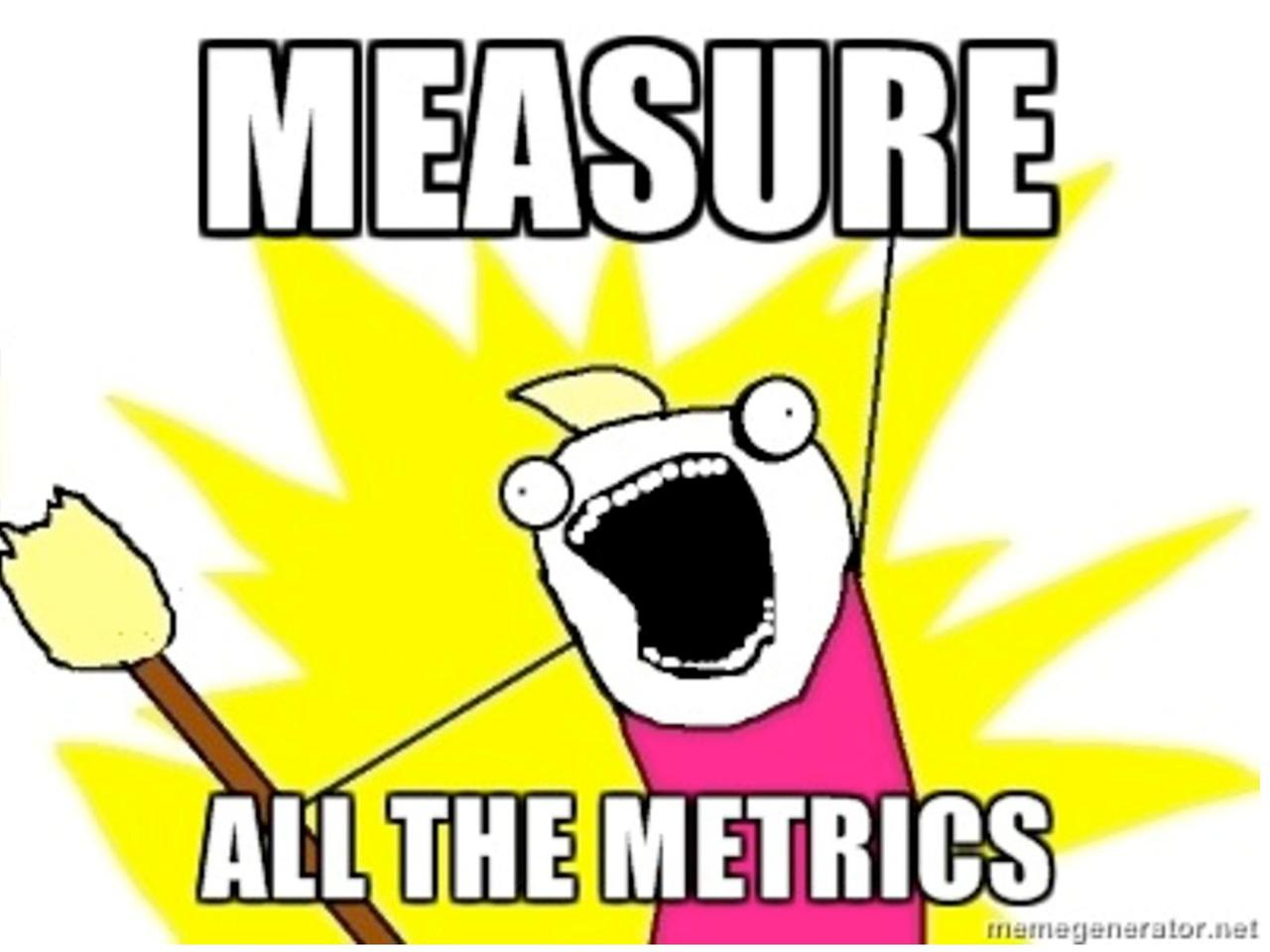 Application Metrics - measure ALL the things!*