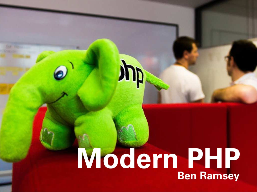 Modern PHP (SunshinePHP 2014)
