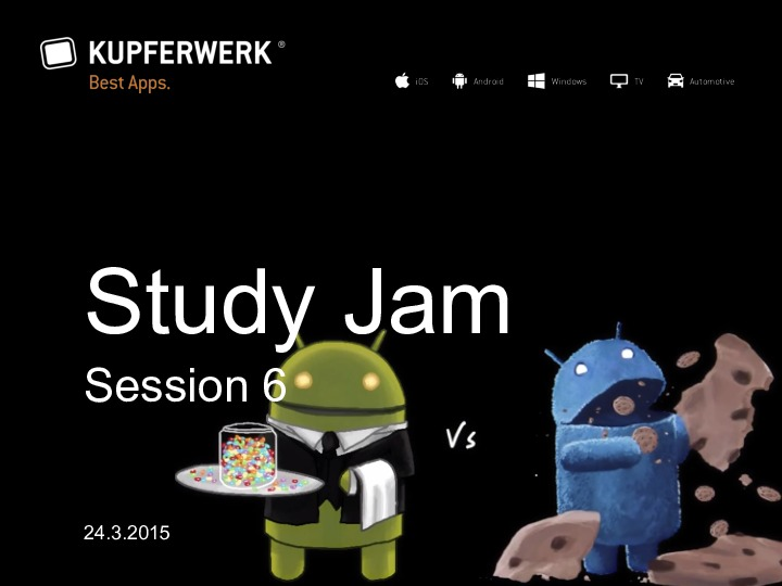 Android Study Jam 6