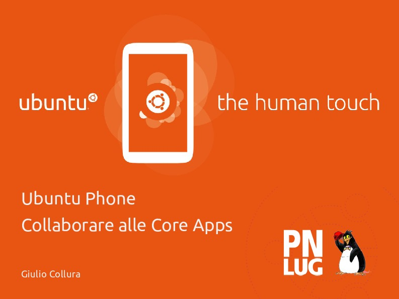 Ubuntu Phone: collaborare alle Core Apps