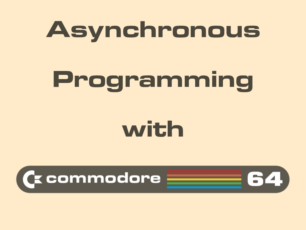 Commodore 64 could do that?