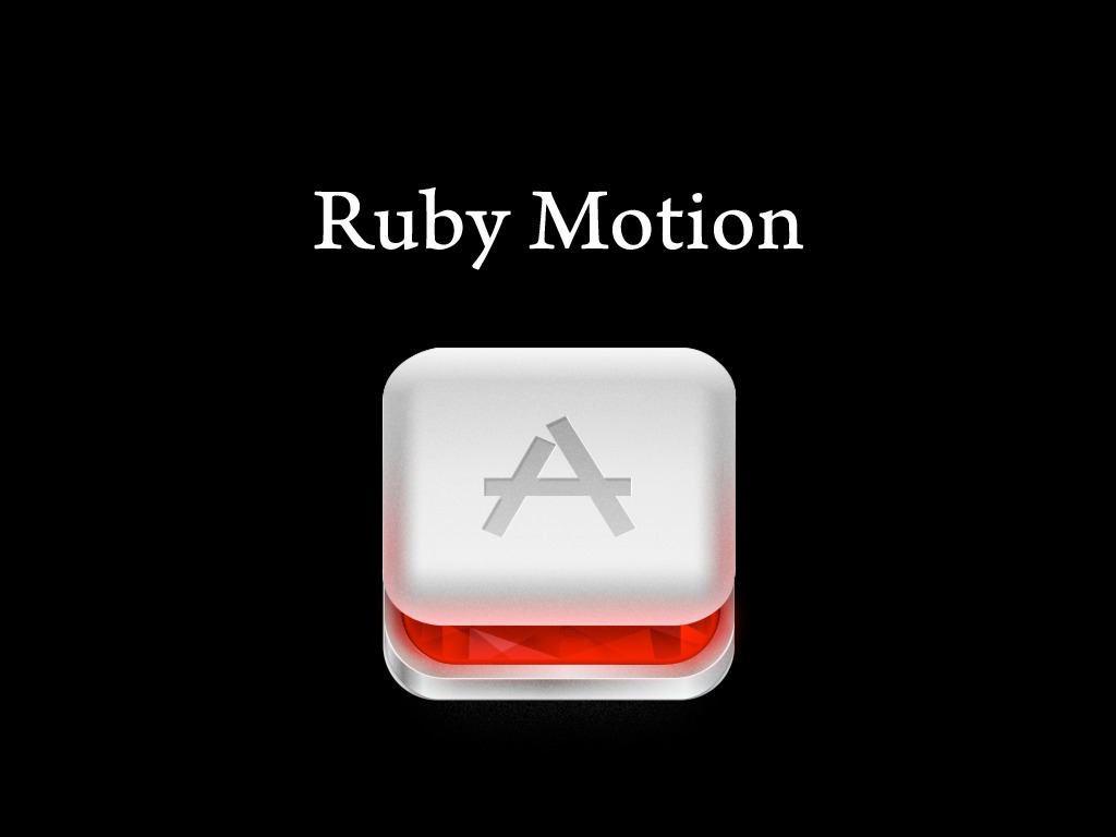 Short and sweet introduction to RubyMotion