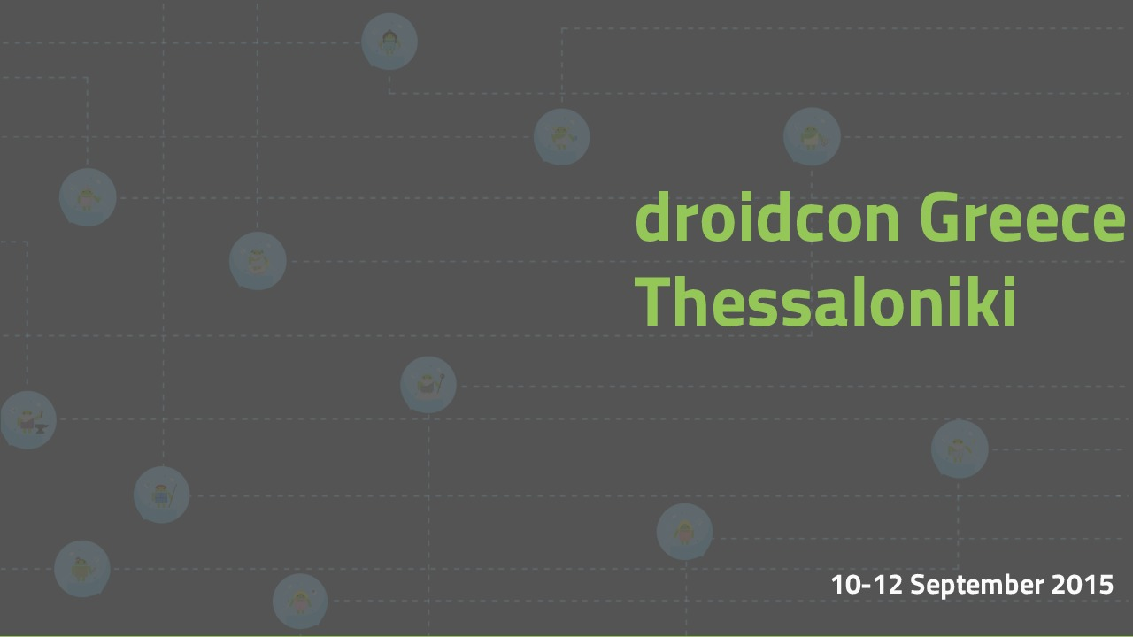 Droidcon Thessaloniki: Reverse Engineering in Android - Countermeasures & T
