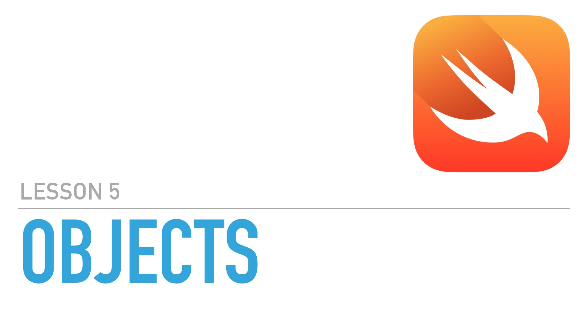Objects in Swift