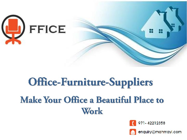Affordable and Quality Office Furniture in UAE
