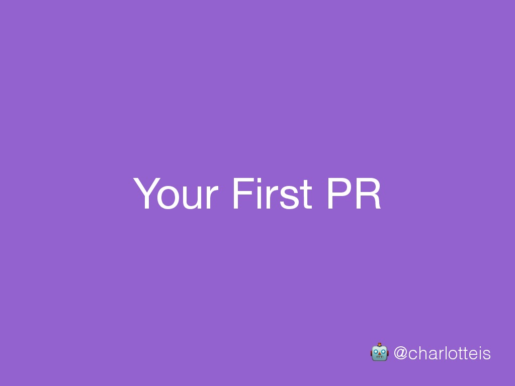 [Codebar] Your First PR