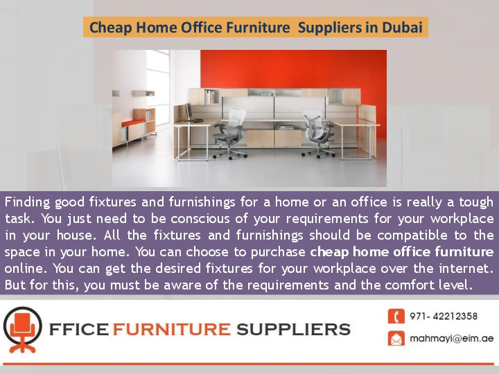 Cheap Home Office Furniture  Suppliers in Dubai