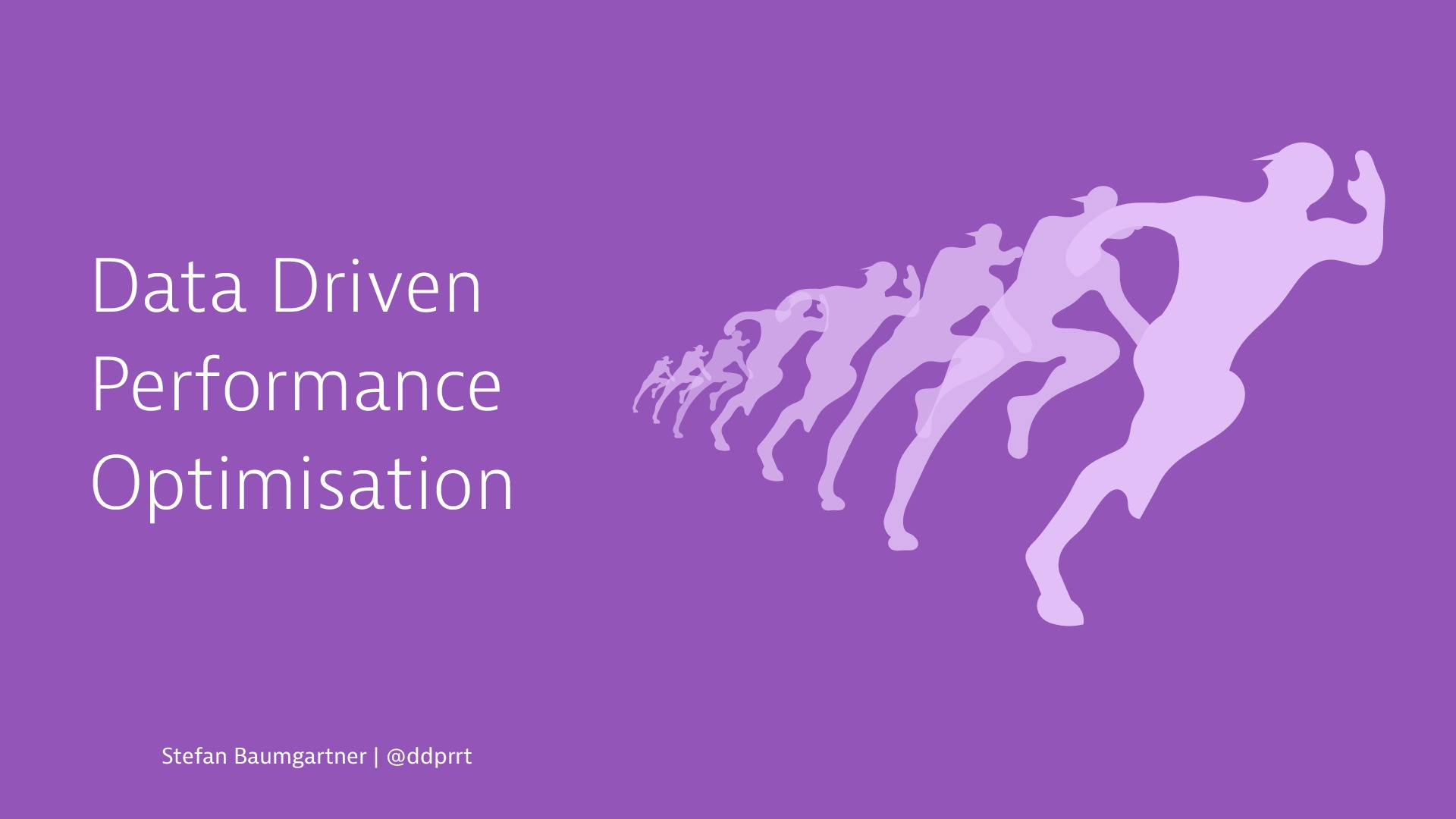 Data Driven Performance Optimisation