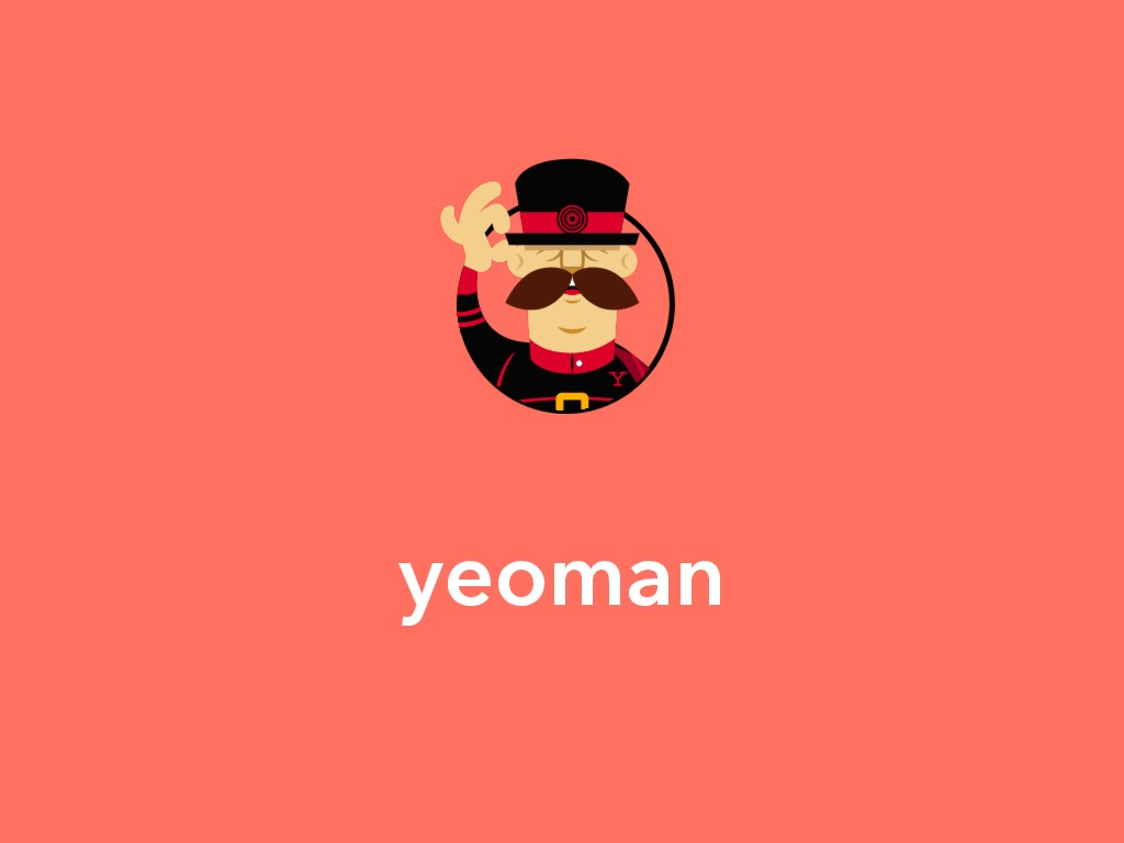 A short introduction to Yeoman