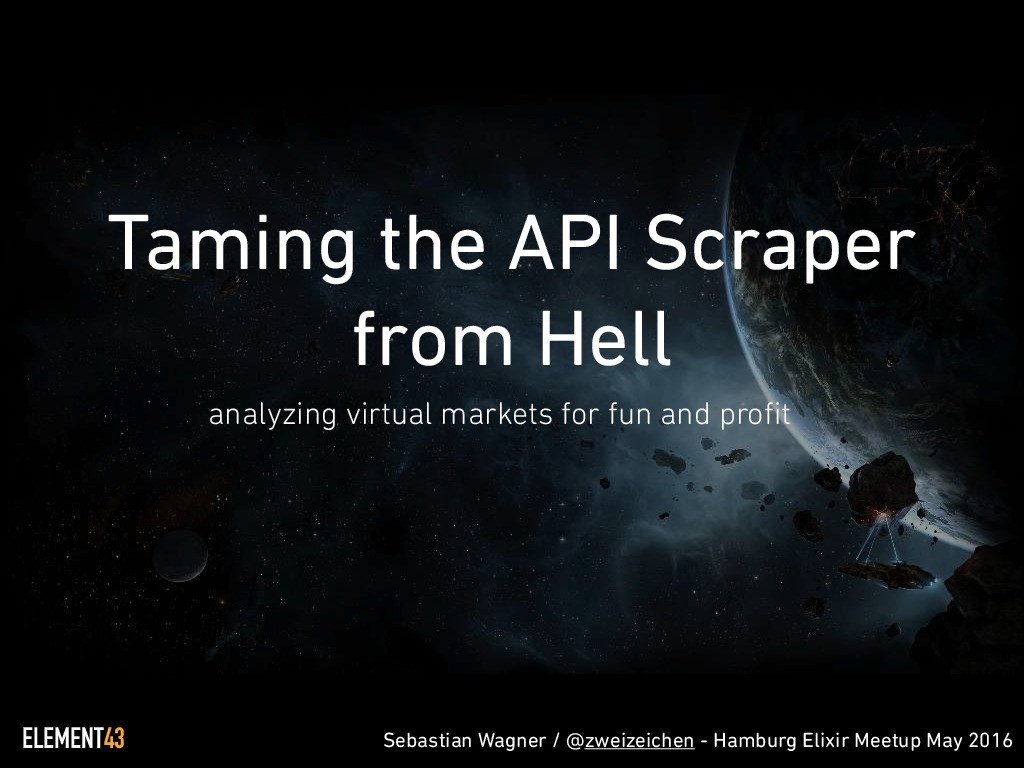 Taming the API Scraper from Hell