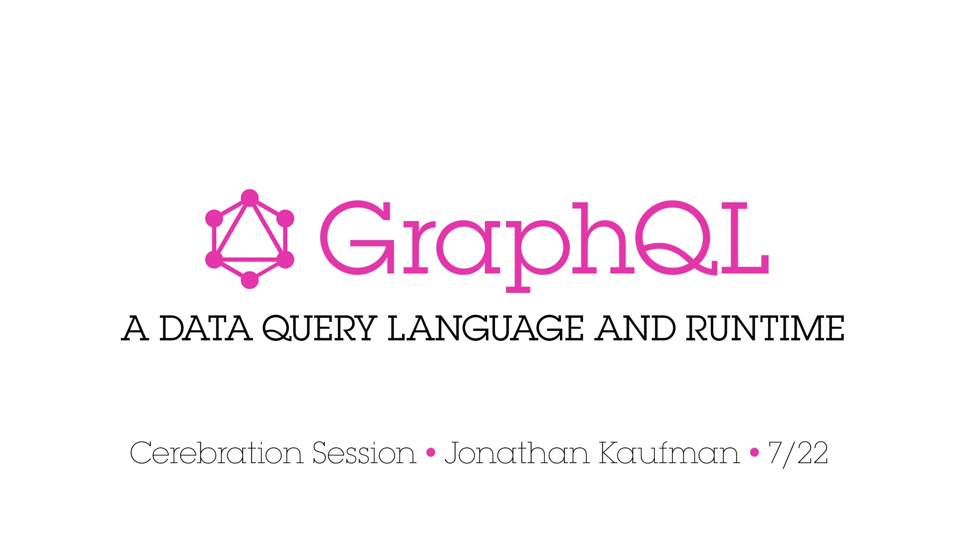 GraphQL Overview