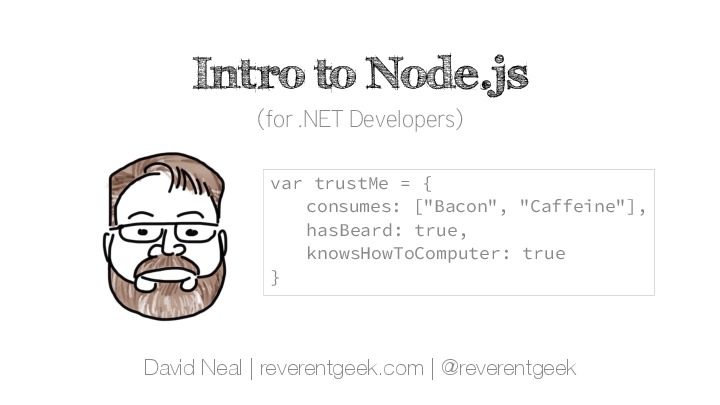 Intro to Node.js (for .NET Developers)