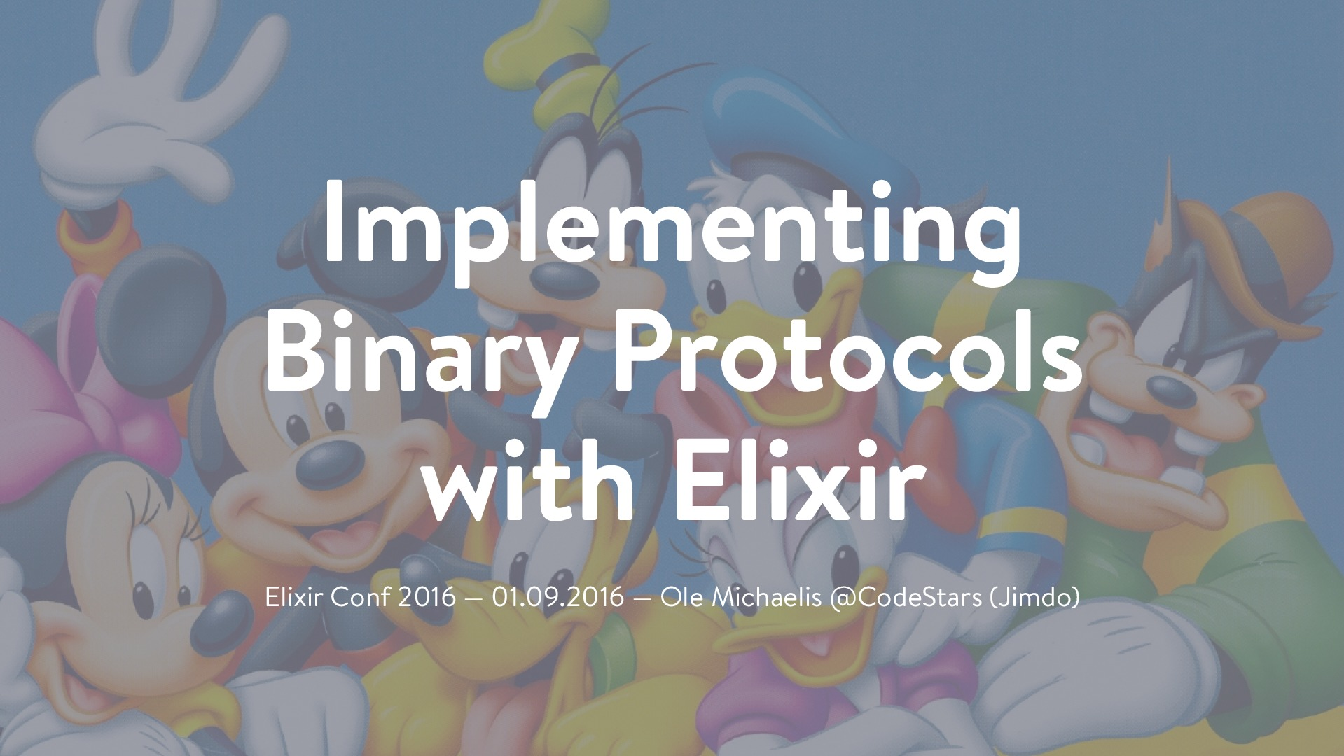 Implementing binary protocols with Elixir