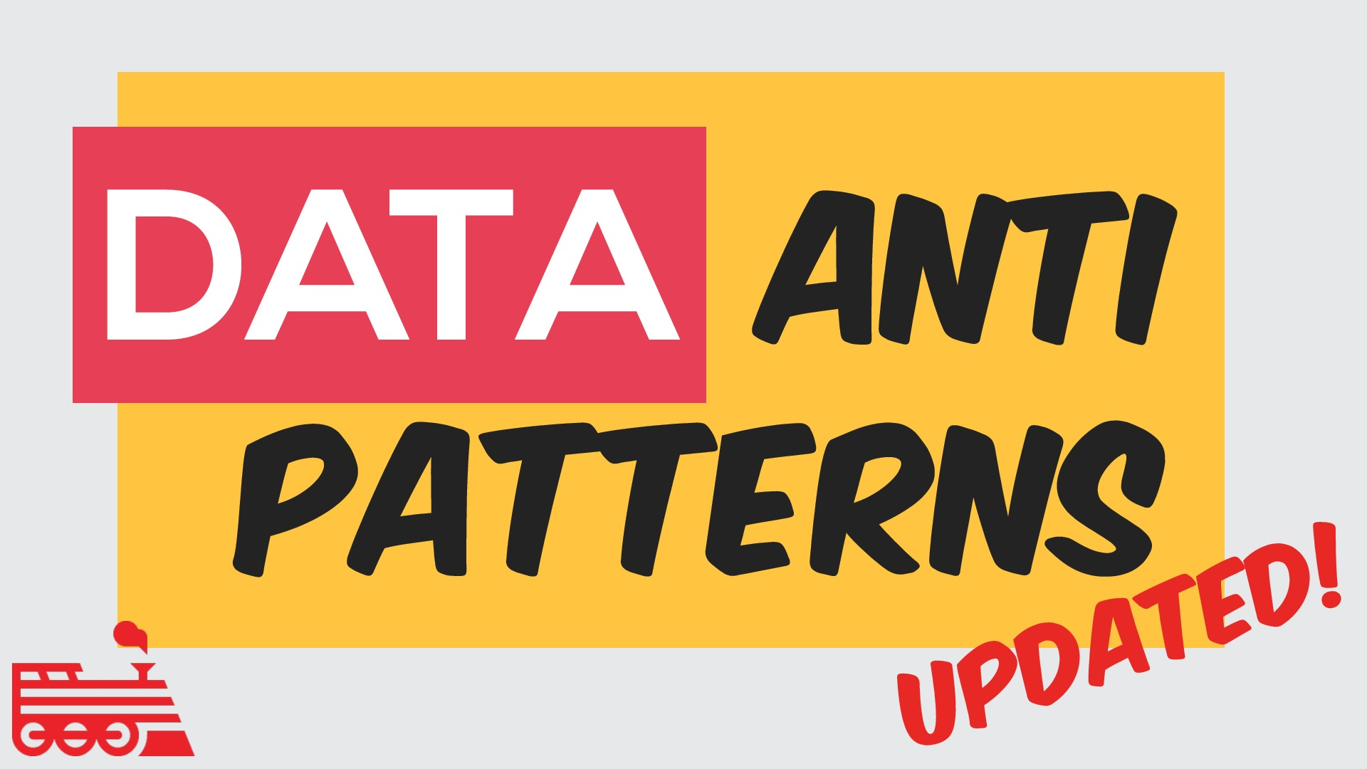 Data Antipatterns - NYC Devops 2014
