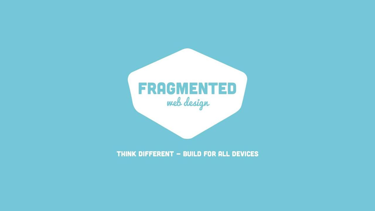Fragmented Web Design