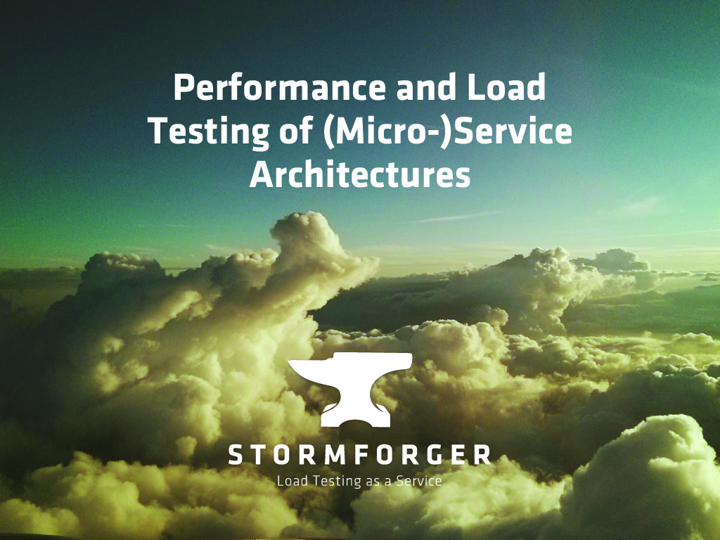 Load and Performance Testing Microservices (Digital Transformation Meetup)