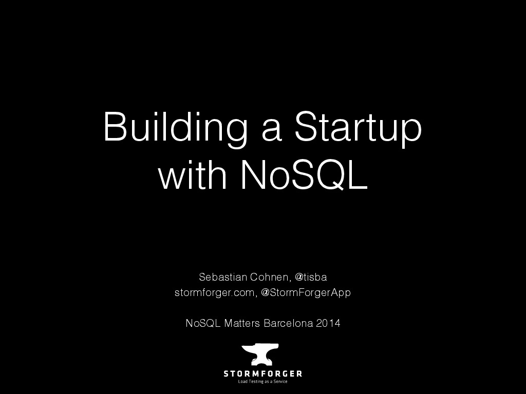 Building a Startup