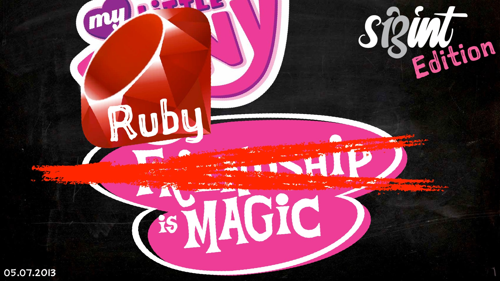 Ruby is Magic - SIGINT Edition