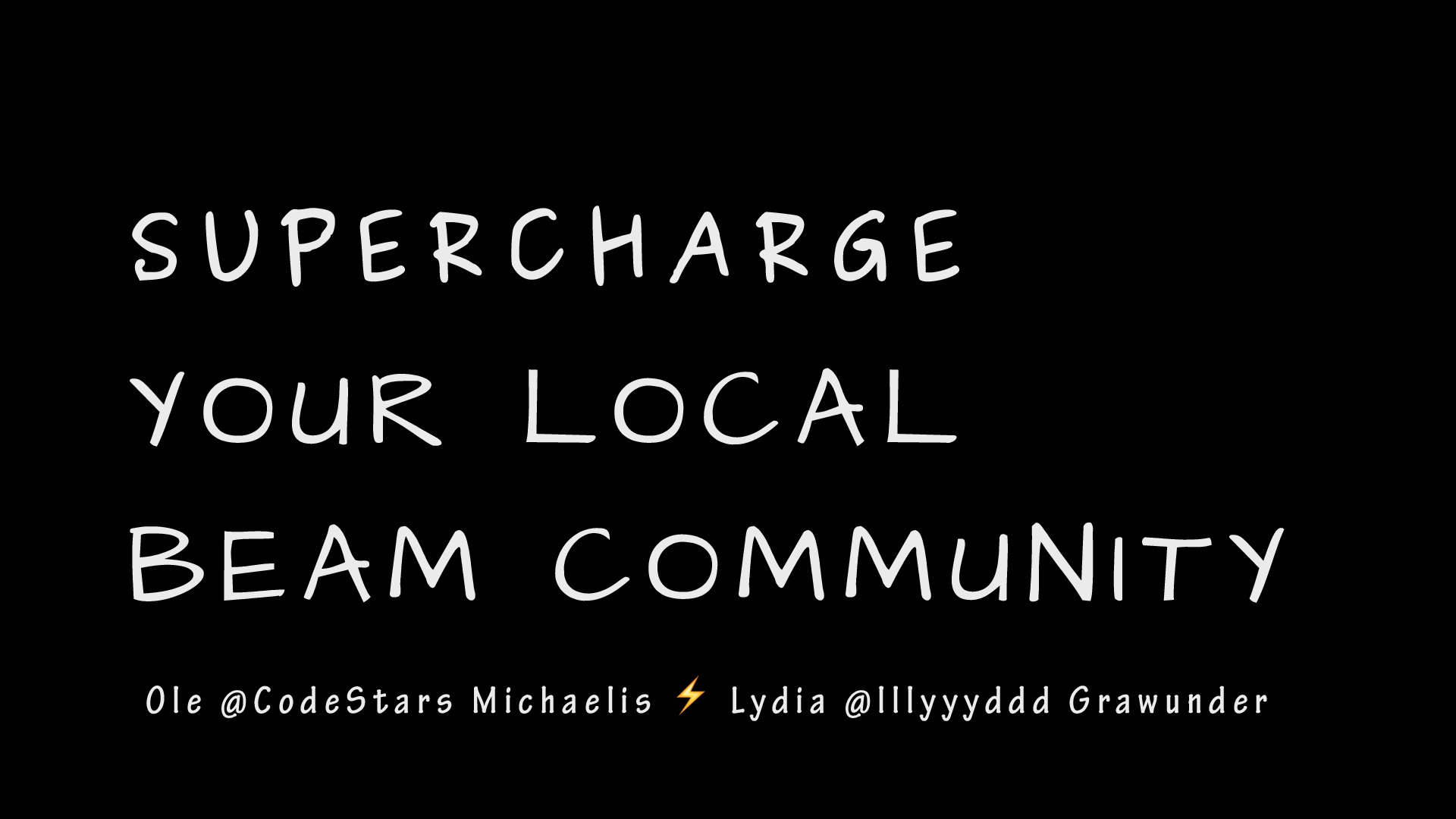 Supercharge your local BEAM Community