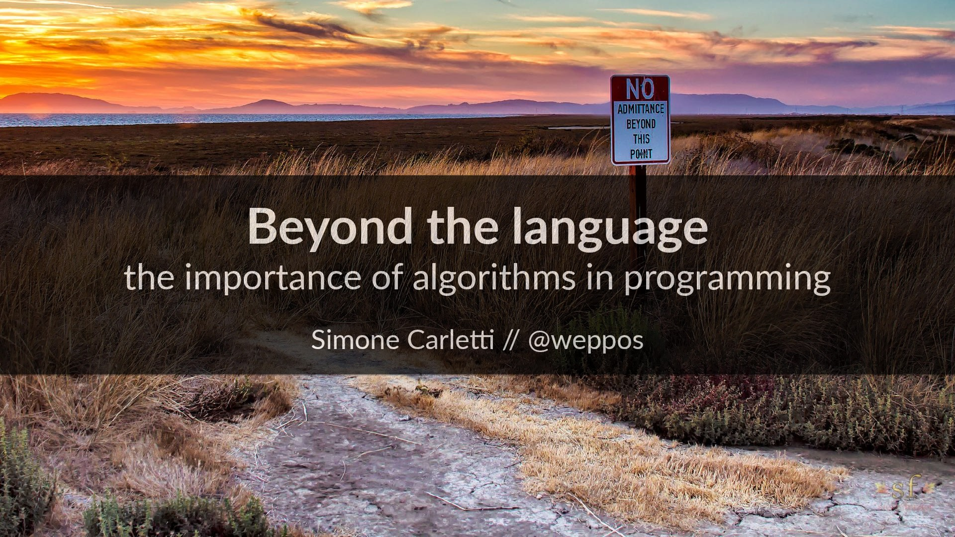 Beyond the language: the importance of algorithms (CodeMash 2017)